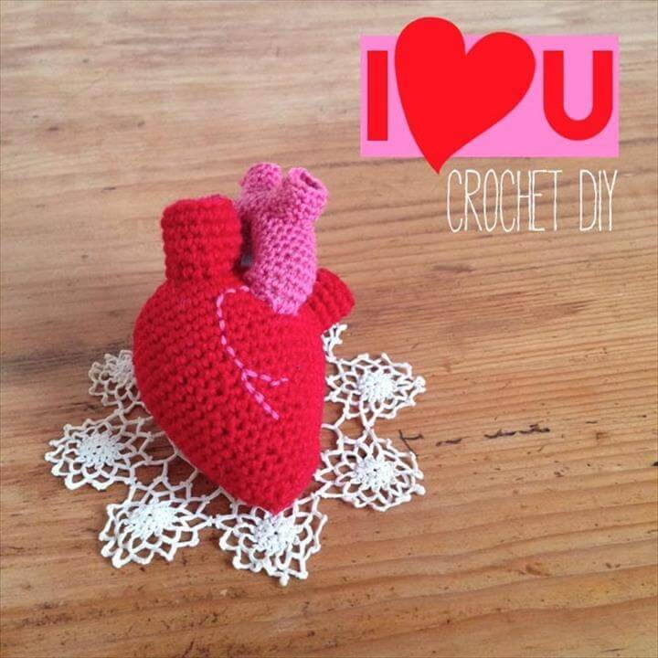 Anatomical Human Heart Free Download - Club Crochet | 720x720