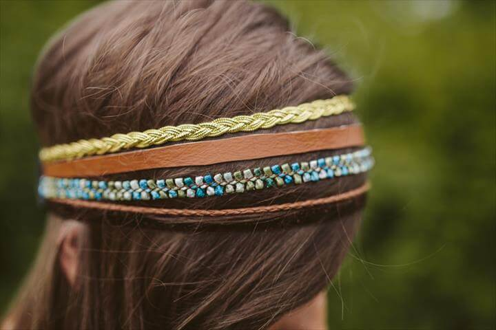 Multi Strand Headband Tutorial