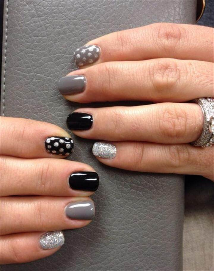 Different Polka dots Nail Art Ideas That Anyone Can DIY