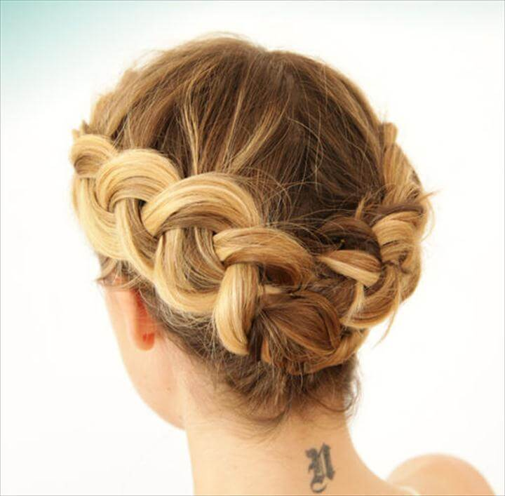 no heat braid hairstyle