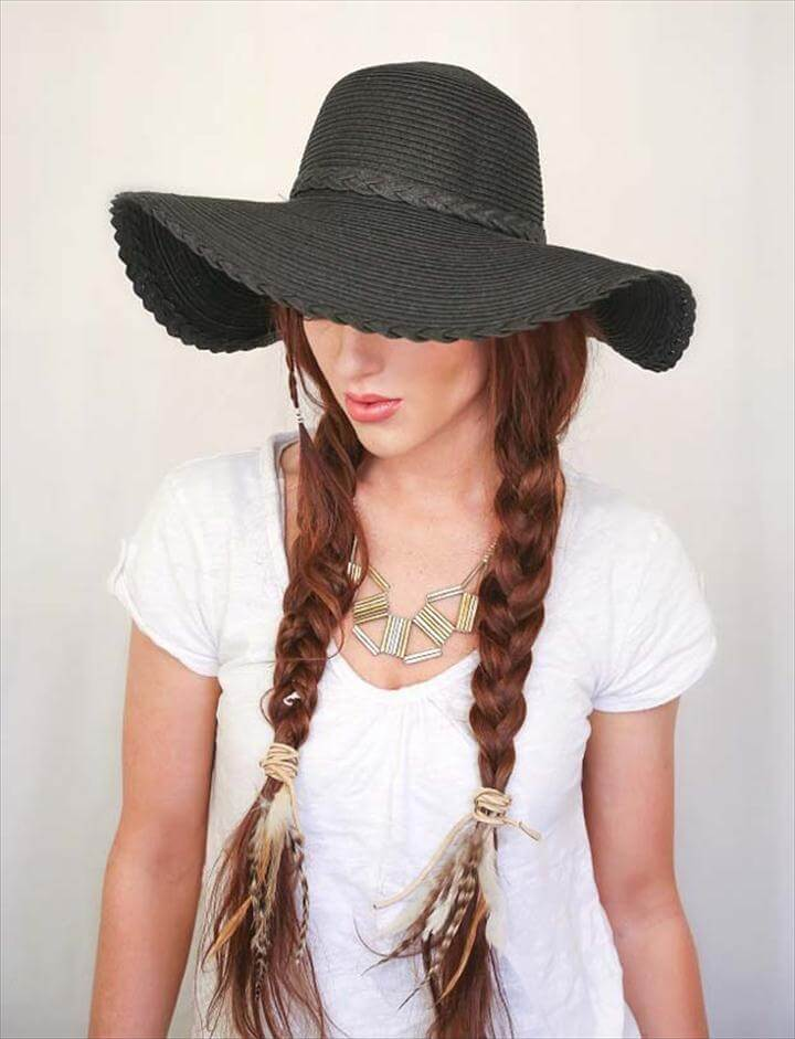 Basic Boho Braids For Festival HairBasic Boho Braids For Festival Hair, Festival Hair Tutorials - Basic Boho Braids For Festival Hair - Short Quick and Easy Tutorial