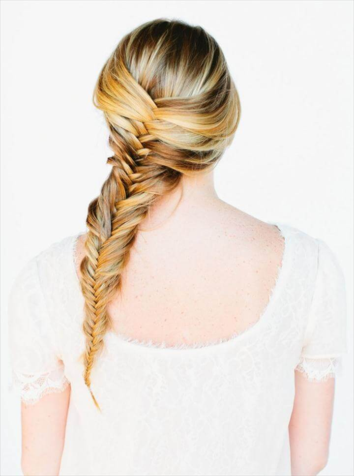 Amazing Fishtail Braid
