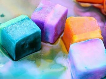 Fun DIY Ice Chalk Paint Projects, Sidewalk Ice Chalk