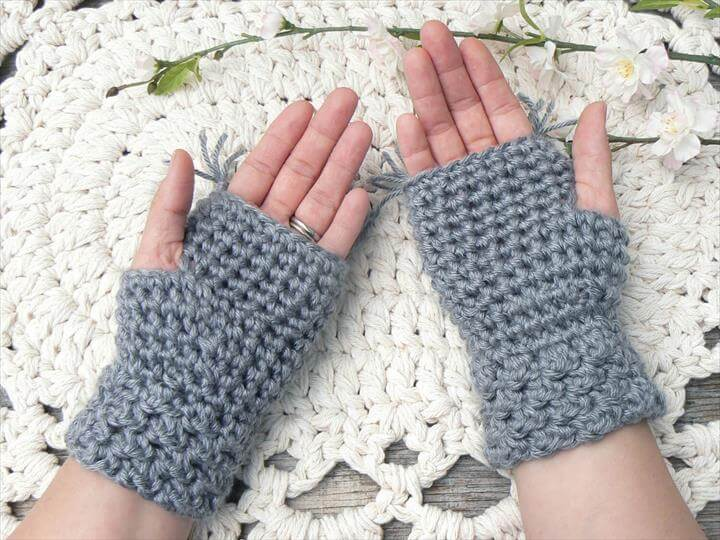 crochet gloves, handmade crochet gloves