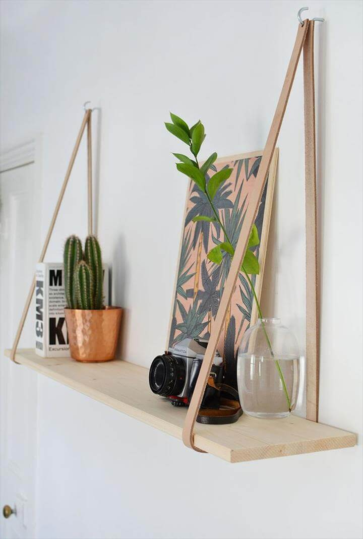 Rope shelves and Hanging furniture