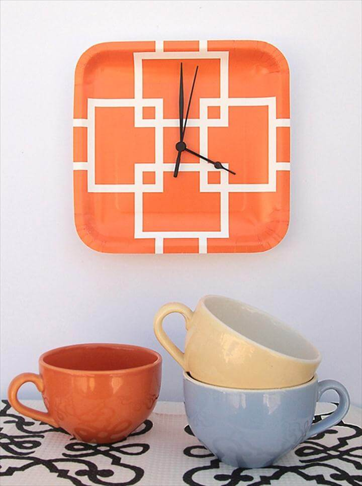 Sizzling DIY Clocks {Home Decor}