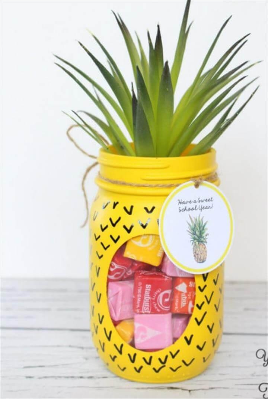 Pineapple Candy Jar