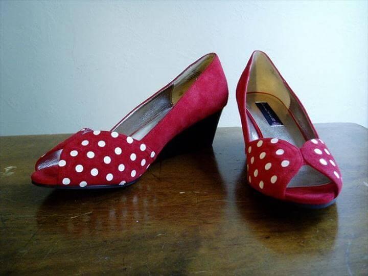 Polka Dot Shoes.