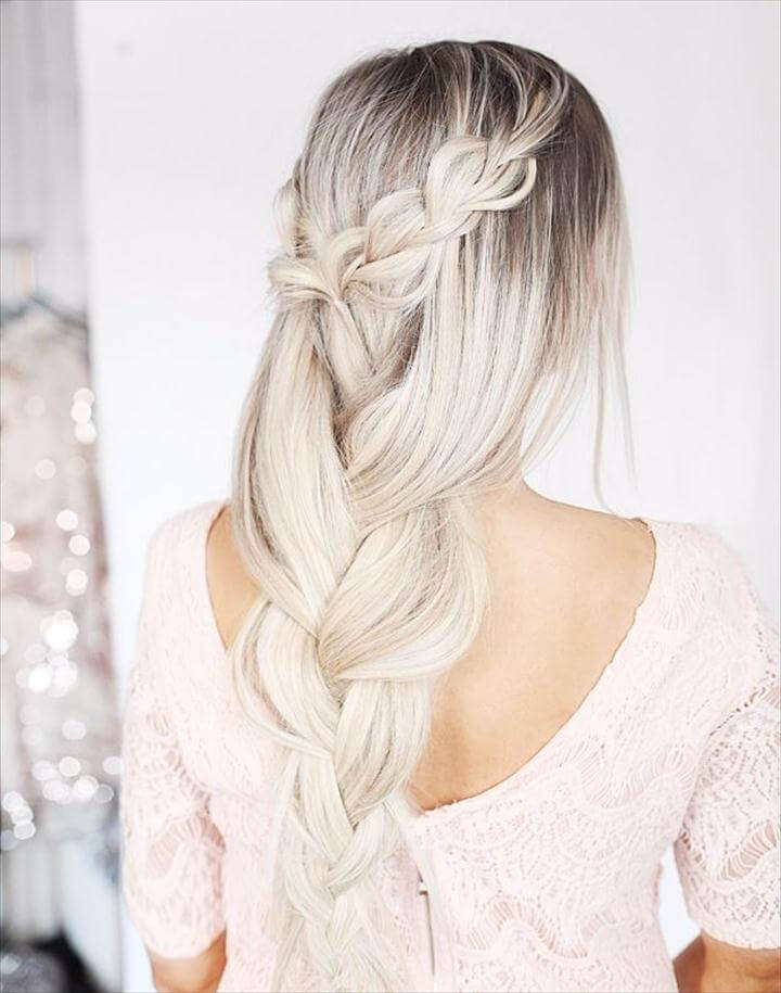 Romantic Braid Hair Tutorial