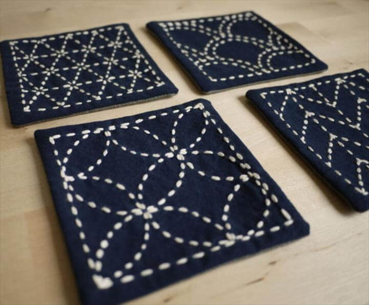 Sashiko Table Decor