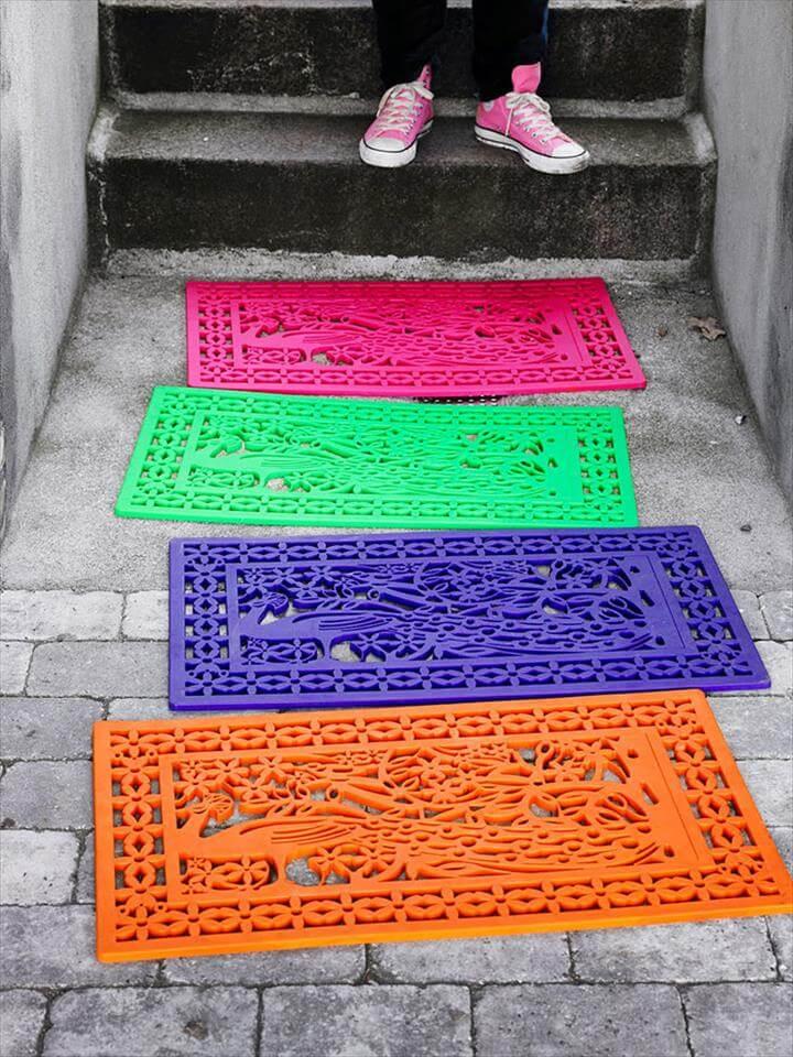 hand paint mats