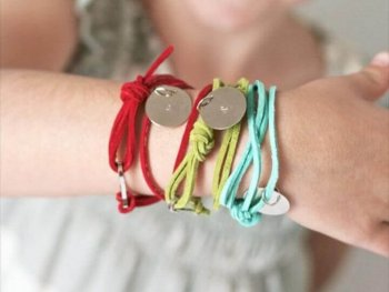 Stamped Friendship Bracelets tutorial