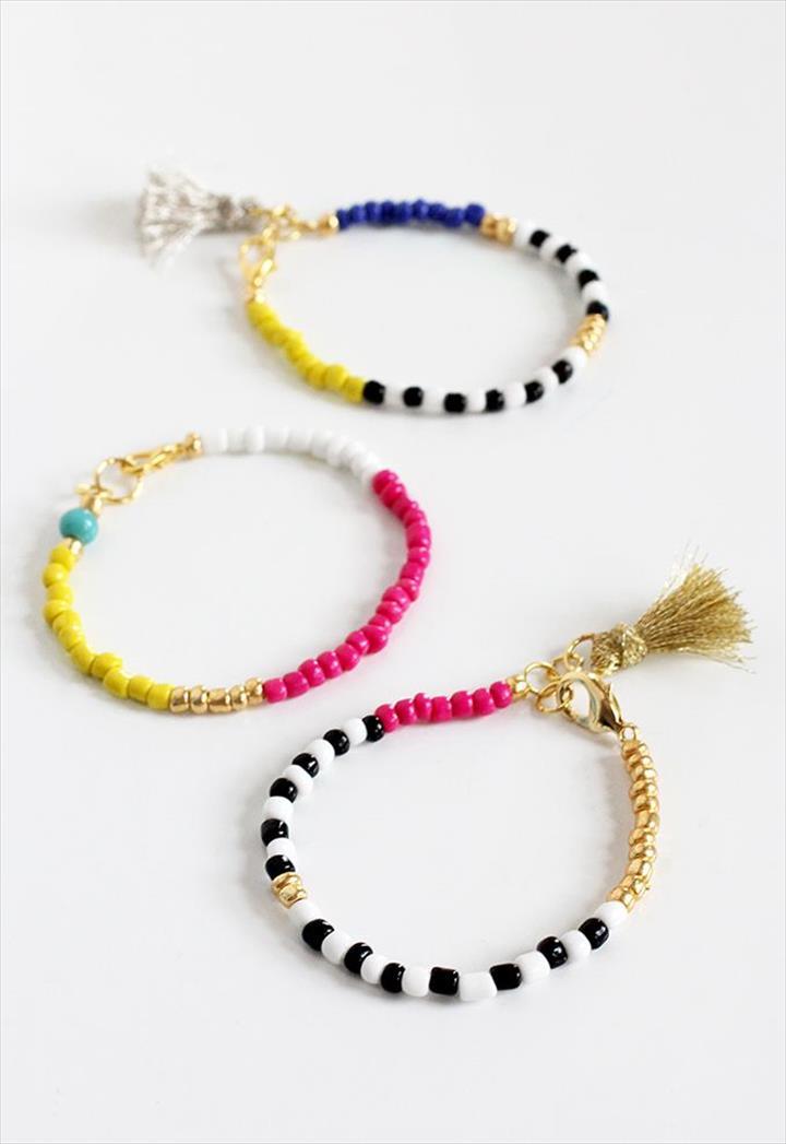 colorful diy bracelets