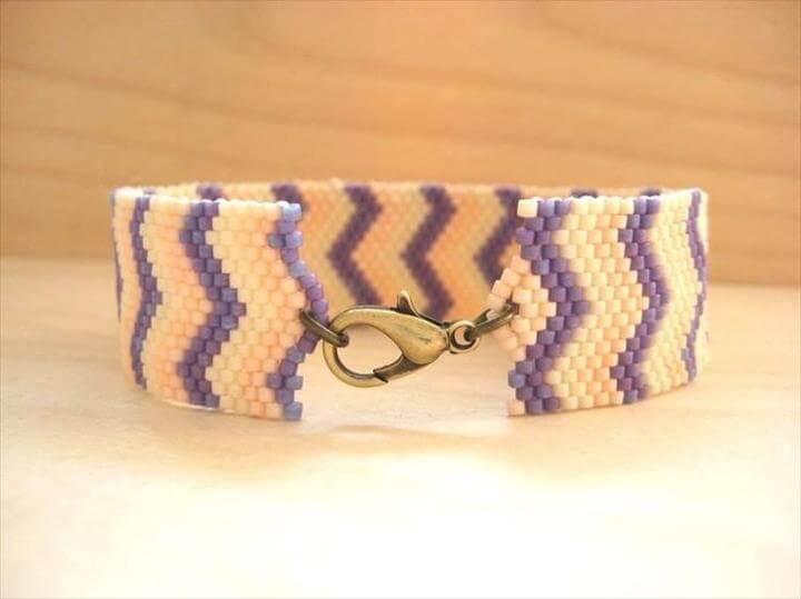 DIY Tutorial: DIY Wrapped Bracelet, DIY Beaded Bracelet - Bead&Cord