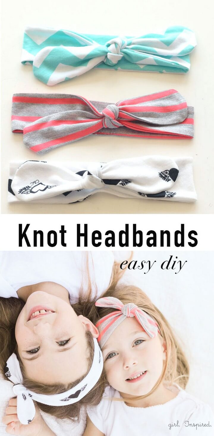 DIY Knot Headbands