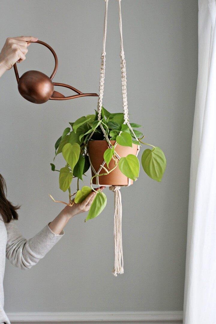 DIY Macrame Plant Hanger 1
