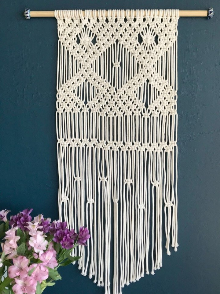 DIY Macrame Wall Hanging For Beginners