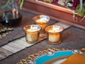 Easily Make Your Own Mercury Glass Votives