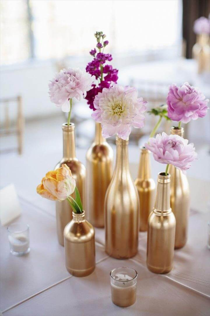DIY Centerpiece Ideas for Your Spring Wedding