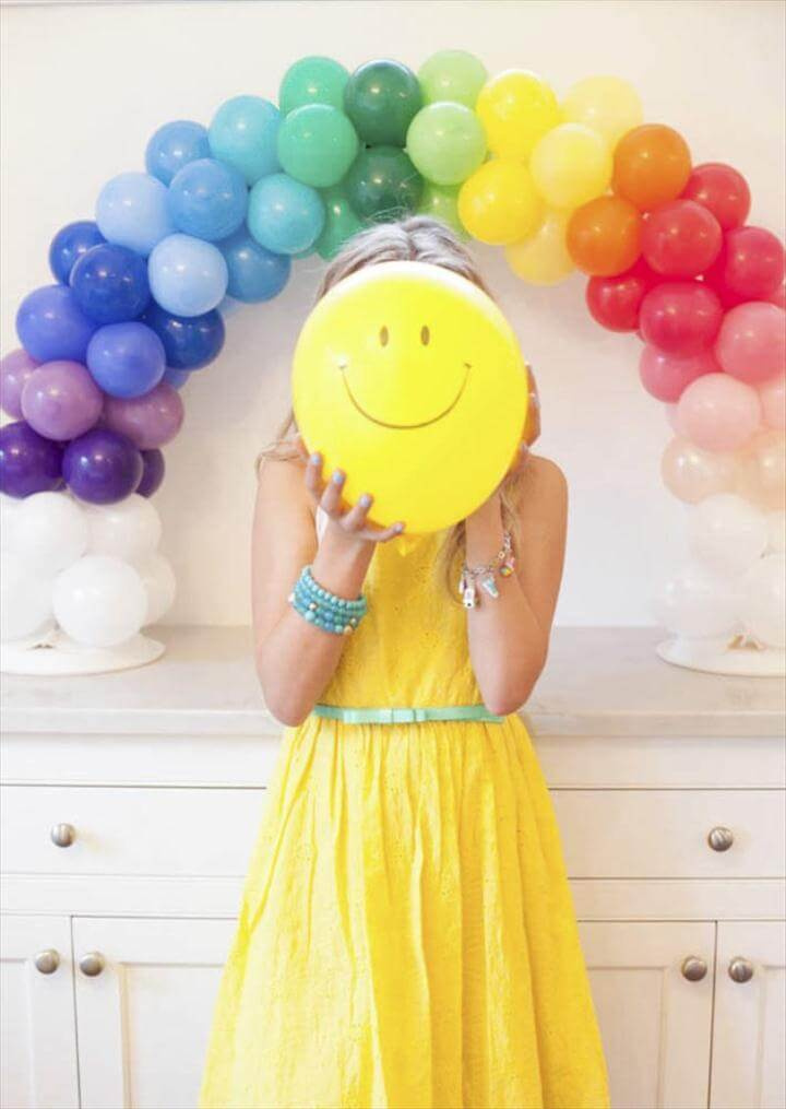 A Charming Over The Rainbow Birthday Party -
