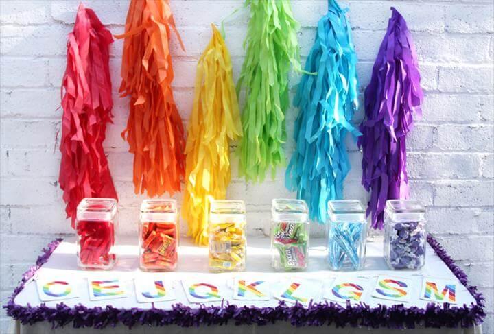 Rainbow Party fringe