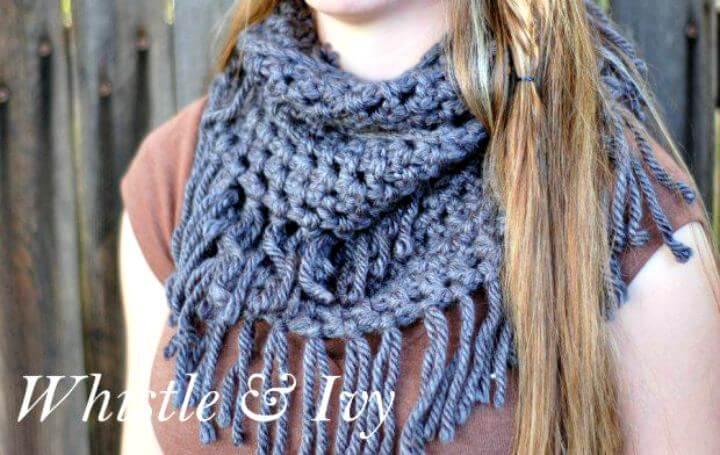 DIY crafts, diy crochet idea, diy scarf crochet, scarf projects