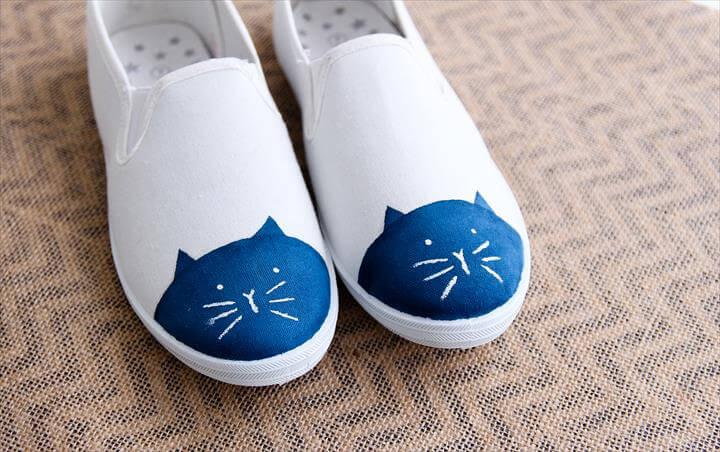 Cute DIY Cat Toe Shoes