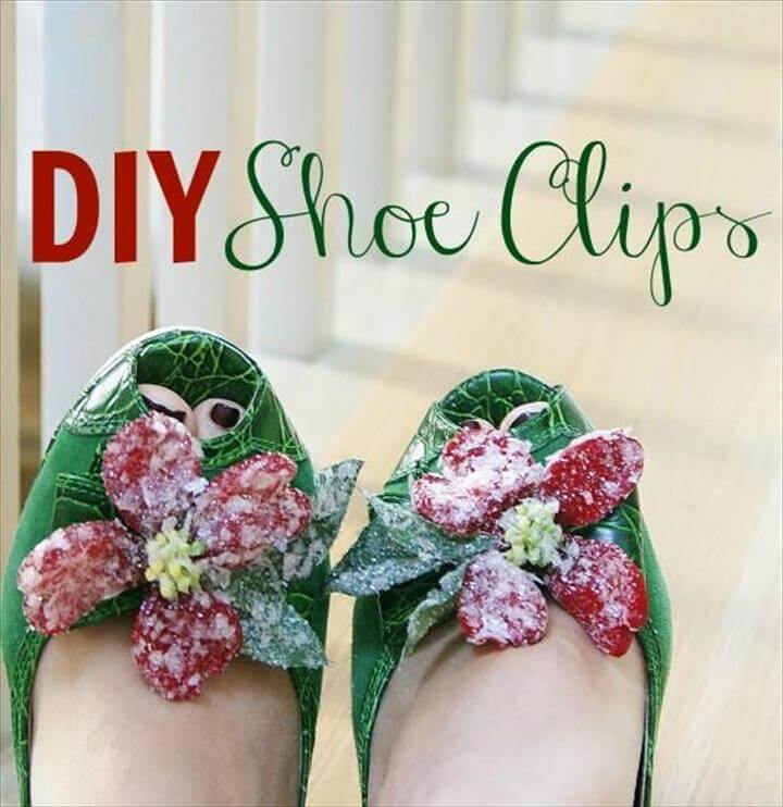 Cute DIY shoe clips