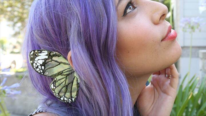 Butterfly Wing Ear Cuff