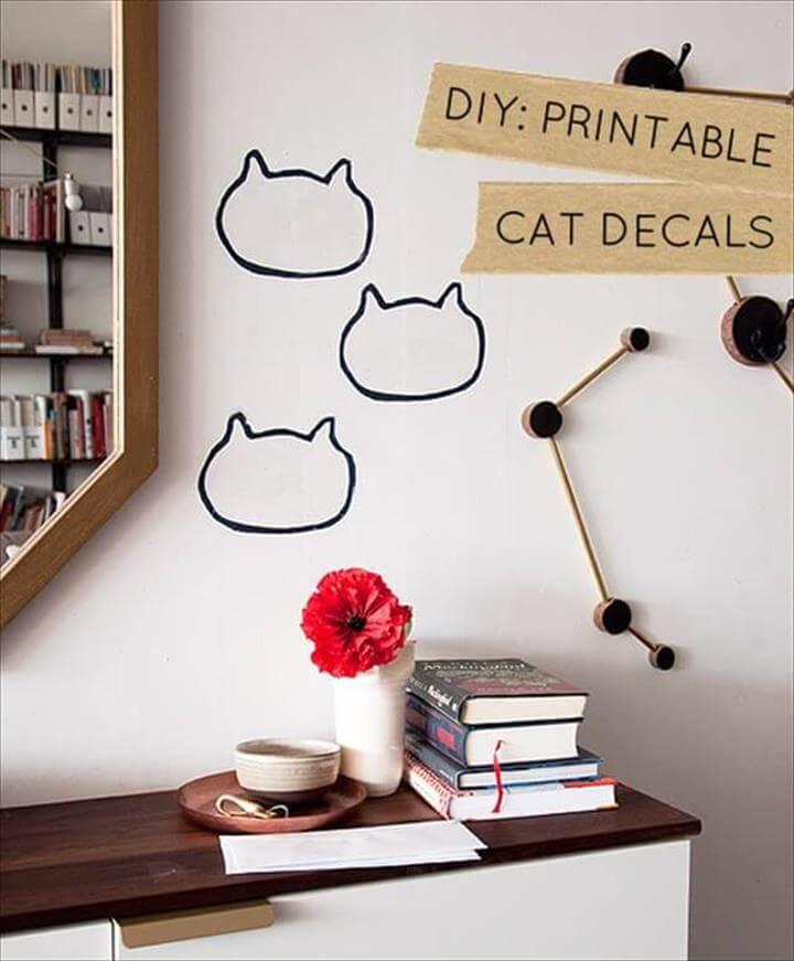 Cat Decals: