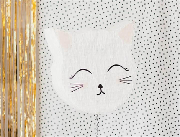 DIY Kitty Piñata Tutorial