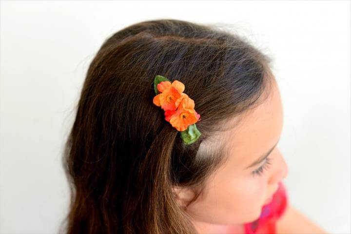 Elena Of Avalor DIY Flower Clip
