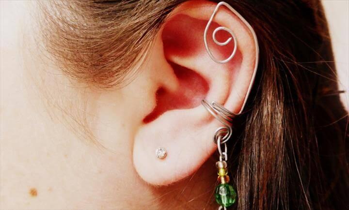 DIY Fun With Wire: Ear Cuffs