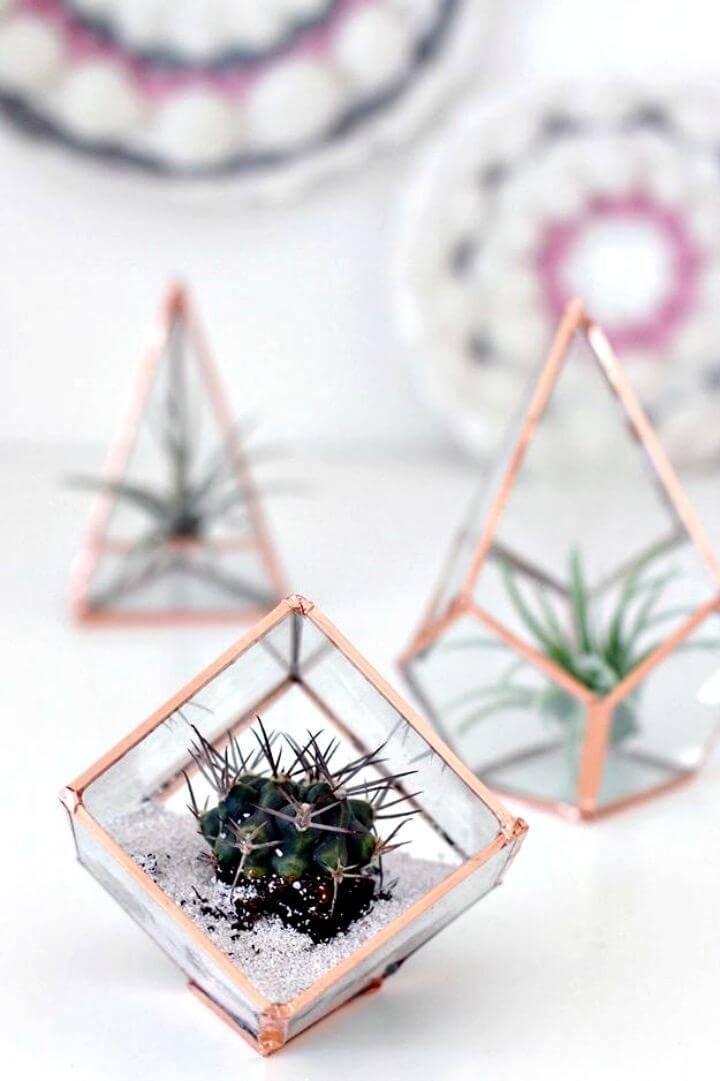 DIY Glass Terrariums, Room Decor, DIY Crafts, Home Decor,