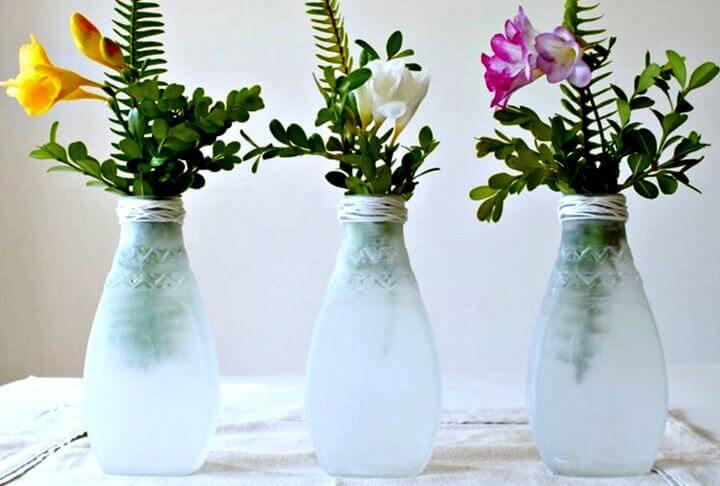 DIY Crafts, bottle crafts, diy room decor, diy flowers, diy springtime sea