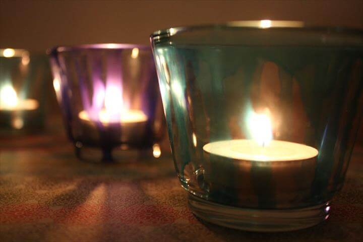 diy candle holder, diy candle holders, how to make a candle holder, make