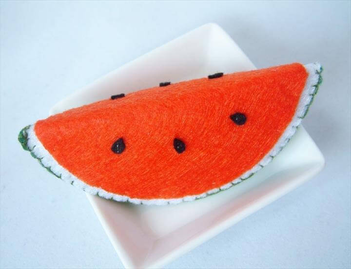 Felt Watermelon Slice