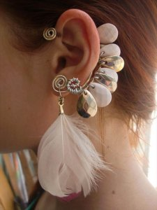 22 DIY Ear Cuff For Edgy Look