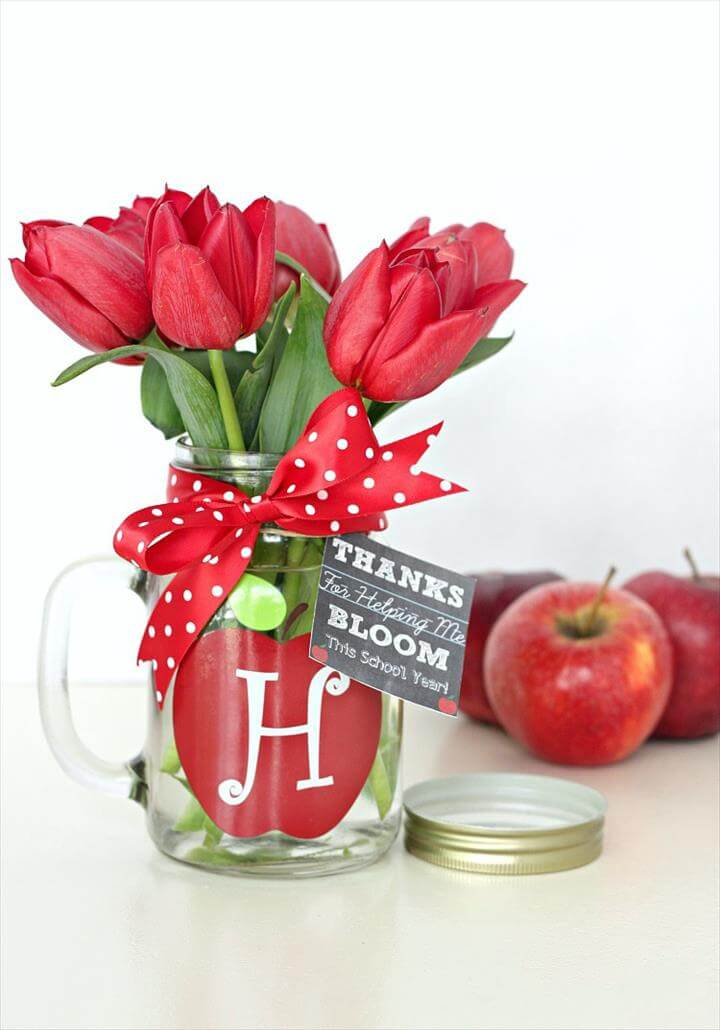 School Themed Mason Jar Ideas