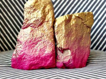 Rock solid diy, simple room decor, diy room decor, craft room decor, lovely stone color idea