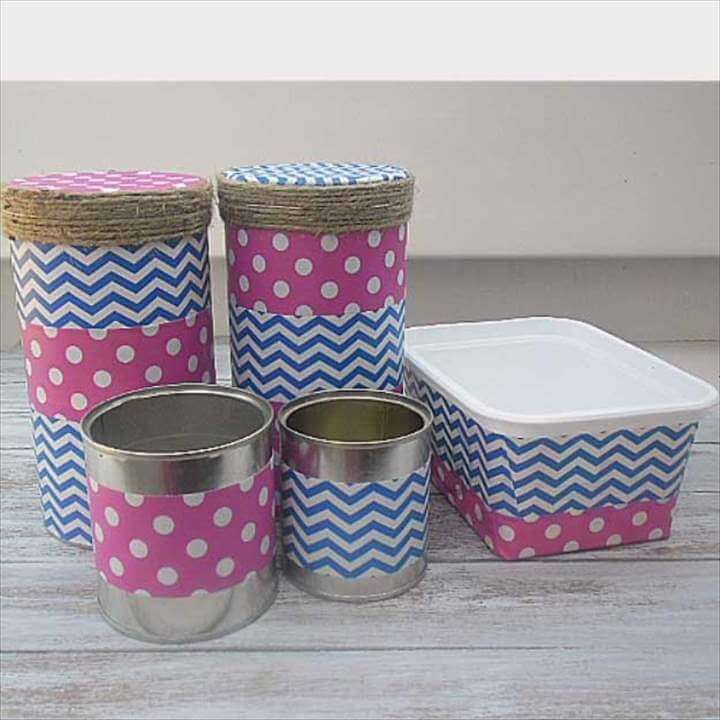 Duct Tape Crafts Ideas for DIY Home Decor, Fashion and Accessories | DIY Duct Tape Storage Drawers