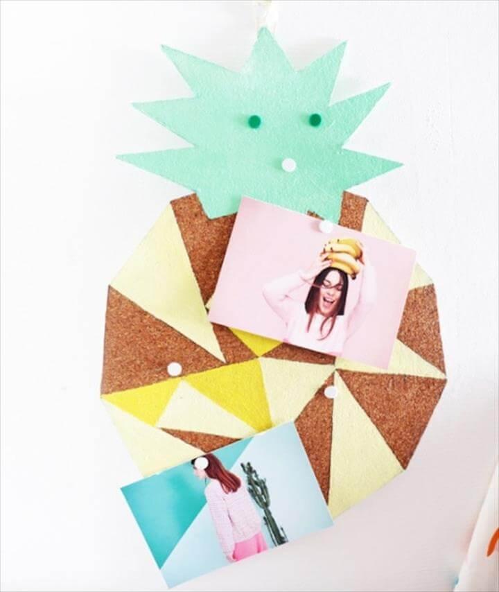 DIY Fun Cork Board, DIY Room Decor Ideas for Crafters (Who Are Also Renters