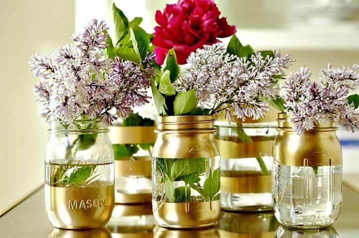 diy mason jar idea, diy home decoration idea, diy mason jar, mason jar