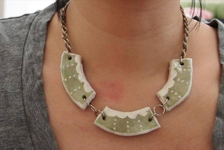 DIY- Salt Dough Necklace