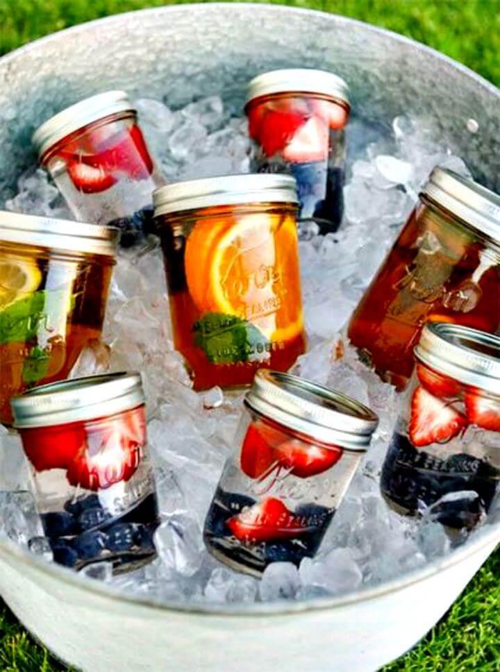 summer mason jar idea, diy mason jar idea, summer diy, summer crafting