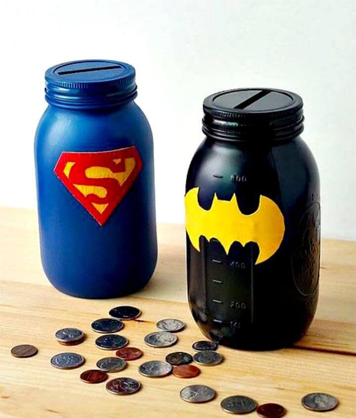 bank mason jar, diy super mason jar, diy super bank mason jar
