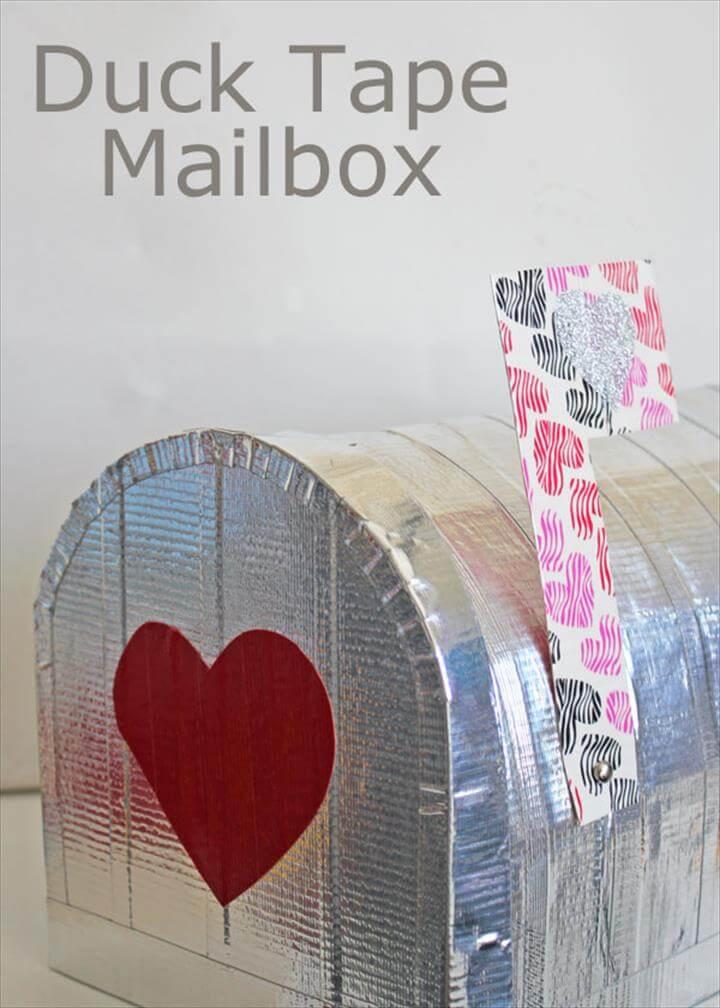 Duct Tape Mailbox