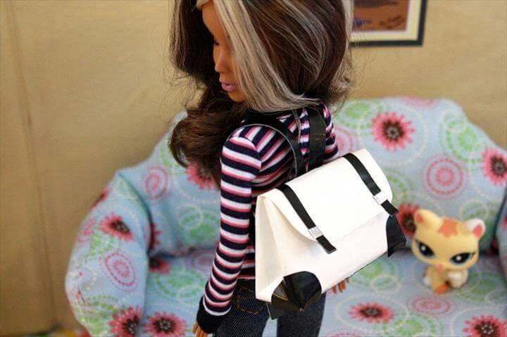 DIY Duct Tape Backpacks