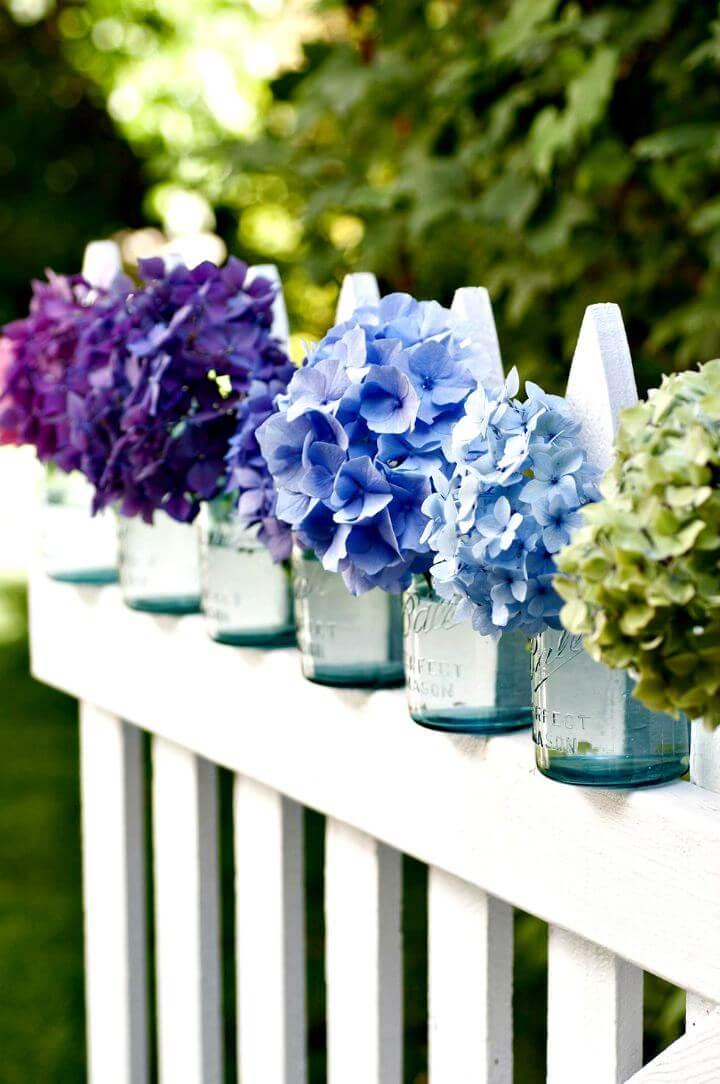 diy mason jar, diy flowers mason jars, how to make mason jar, easy to make