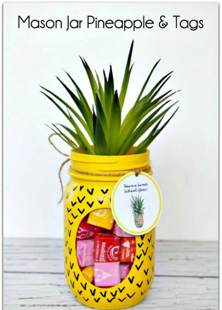pineapple mason jar, pineapple using. mason jar. yellow mason jar